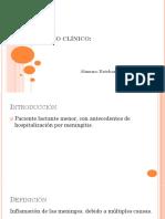 Caso Clinico. Meningitis