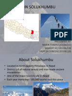 Tourism in Solukhumbu