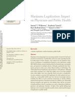 Marijuana Legalization Impact