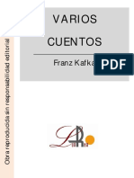Varios Cuentos - Franz Kafka
