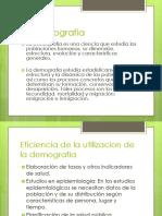 Demografia medica