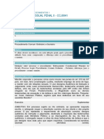 Planodeaula 5 Processual Penal II