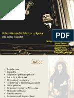 Powe Point Arturo Alessandri Palma!!! Re Oficial