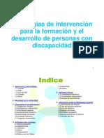 Estrategias de Intervencion y El Desarrollo de Las Personas Con Discapacidad (1)