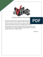 Documentation BasicLocomotion