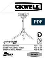 Jawstand Manual Rk9034