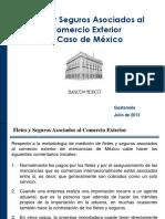 México- Fletes y Seguros Asociados Al Comercio Exterior