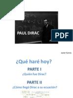 Presentación Dirac