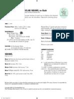 Shawl Triangular Knit Revision