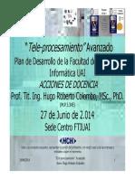 Radioenlace 7.3 HRC Sistemas Inalámbricos FTIUAI FIUBA