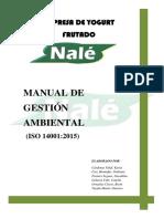 Manual de Gestión Ambiental- Nale