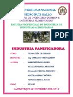 Industria de La Panificación Word (1)
