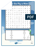 Let's Go Fly a Kite Word Search