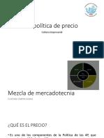 La Política de Precio