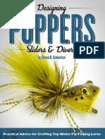 Designing Poppers, Sliders & Divers by Steven B. Schweitzer