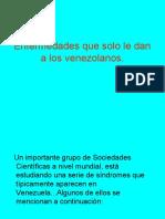 Enfermedades Venezolanas