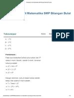 Pembahasan UN Matematika SMP Bilangan Bulat & Pecahan