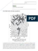 Nivel de Emplazamiento Atlas de Rocas Ígneas