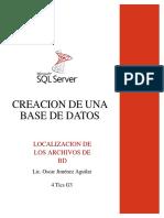Creacion de Una Base de Datos