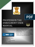p Tax Enrollment User Manual