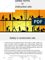 Safety Norms in Construction Site