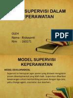 model supervisi dalam keperawatan