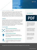 Operations Management Suite Security Datasheet en US