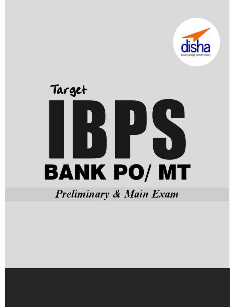 Target IBPS Bank PO MT Preliminary & Main Exams 20 Practice Sets ...