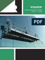 FX Cable Suspended Platform LR FA