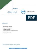 Diff Between VSphere 5.5 vs 6
