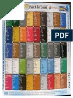 Model Paint Conversion Chart