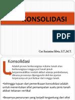 5. Konsolidasi