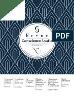 Revue Conscience Soufie N1 Web