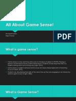 pdhpe game sense