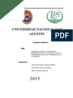 Informe de Agricultura y Transgenicos