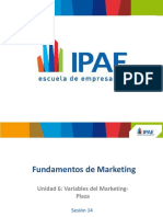ADM I SEM Fundamentos de Marketing Sesión 14