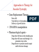 Cryoviva India - Possible Approaches to Therapy for Muscular Dystrophy