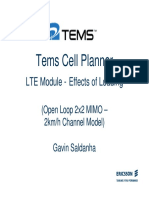 TCP LTE - Effects of Loading