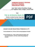 Presentasi Registrasi Pendidik Dit Kesehatan AD