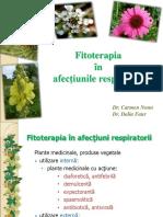 1.Fitoterapia Afectiunilor Respiratorii Dr.dalia Faur 1