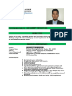 Quantity Surveyor CV - Copy