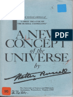 Walter Russell - A New Concept of the Universe