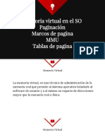 Memoria Virtual,Mmu,Paginacion