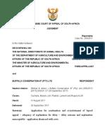 Mtshali & Others v Buffalo Conservation 97 (Pty) Ltd