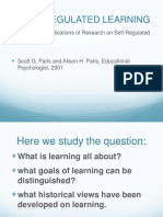 Reading 4 Self Regulated Learning Paris(1)
