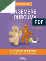 Claire Pinson, Carole Minker Gingembre Et Curcuma Un Concentré de Bienfaits Pour Votre Santé Et Votre Beauté