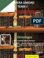 Derecho Minero Tema I.