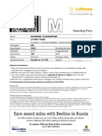 Boarding Document