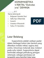ppt STUDY BIOFARMASETIKA SEDIAAN REKTAL.pptx