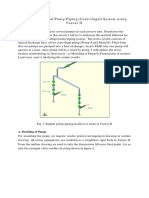 Stress Analysis of Pump Piping